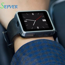 Wholesale Mobile Unlock Watch - SEPVER waterproof F1 smart watch mobile phone with touch screen camera unlock watchphone hours works with Android phones Clock
