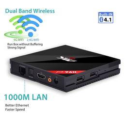 Wholesale wifi 5ghz - 1 Piece H96 Pro Plus TV BOX Android 7.1 Amlogic S912 Octa Core 2.4 5GHz Wifi Bluetooth 4.1 1000M