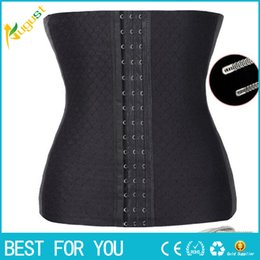 Wholesale Body Sharper - Steel Bone waist trainer Women Slimming Waist training corsets Underbust cincher body sharper corset slimming sharpers