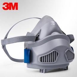 Deutschland 3M 7772 Halbe Gesichtsmaske Atemschutzmaske Anti-Staub-Maske + 7744C Filter Baumwollanzug, Bergmannschutz, Industriestaubschutz, Maske, Maske Versorgung