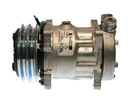 Компрессоры для кондиционирования воздуха онлайн-завод прямых продаж автоматический кондиционер компрессор для Санден SD7H15 4743 гнить вертикальный 125мм-2Г 24В
