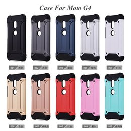 Wholesale Red G2 - Hybrid Armor Cases For Iphone7 MOTO G G2 G3 G4 play G5 Plus TPU+PC 2 In 1 Cover