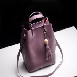 Wholesale Female First - The latest version of the first layer of cowhide bucket bag female bag personality fashion leather handbag