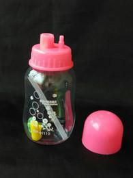 einzigartige tropfflaschen Rabatt Plastikflasche Meerrettich Glas Bongs Zubehör, einzigartige Ölbrenner Glaspfeifen Wasserpfeifen Glaspfeife Ölplattformen Rauchen mit Pipette