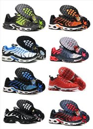 Wholesale Fashion Cargo - Wholesale 2017 Running Shoes Hot Sale Men TN Fashion Increased Ventilation Breathable Light Casual Shoes Olive Cargo GS Sneakers Shoes