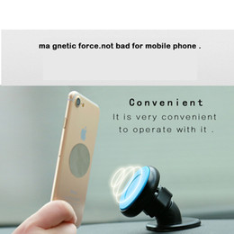 Wholesale Iphone5 Mount Car - OBSHI Universal Car Magnetic Phone Holder Stand Mounting Dashboard 360 Degree Rotation magnet suction Iphone5 6 ARTI 7