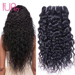 Wholesale Top Quality Peruvian Hair Virgin - IUPin Top Quality Malaysian Hair Weaves Water Wave Unprocessed Virgin Hair 4 Bundles Peruvian Cambodian Mongolian Human Hair Extensions
