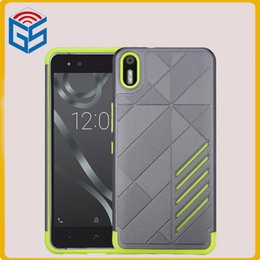 Wholesale X5 Green - Most Popular Items 2 In 1 TPU + PC Hard Case Shockproof Hybrid Combo Cover For BQ Aquaris X5