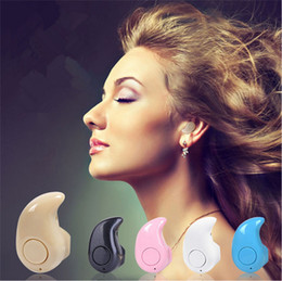 Wholesale Mobile Phone Stereo Bluetooth Headset - S530 mini bluetooth headphones wireless earphones Sport Running stereo ear buds headset for iphone 7 7plus Samsung S7 mobile phones