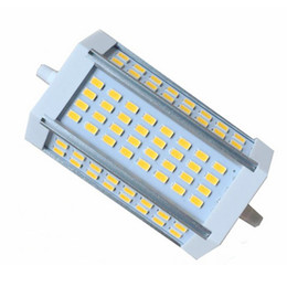 Wholesale Halogen R7s 118mm - High power 30w dimmable 118mm SMD5630 LED R7S light J118 R7s lamp replace 300W halogen lamp AC85-265V