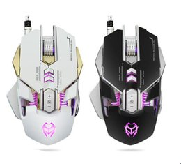 Wholesale Mice Definition - There is a stock macro definition mechanical wired light game mouse computer USB mouse LOL game enthusiasts the best equipment
