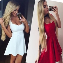 Wholesale Cocktail Dresses For Casual Party - New Fashion Womens Sleeveless Dress Prom Evening Party Cocktail Bridesmaid Short Gown Mini Dress SEXY Dresses For Girls