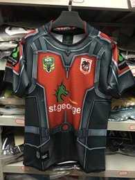Wholesale George Shirts - NRL National Rugby League St. George Illawarra Dragons jersey High-temperature heat transfer printing jersey Rugby Shirts