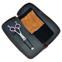 Canada 6.0inch dragon violet 10 dents ciseaux de coiffeur Sharp JP440C professionnel de coiffure ciseaux éclaircie pour la maison ou l'utilisation de salon, LZS0316 supplier used professional scissors Offre