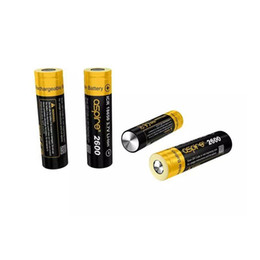 Wholesale current shipping - Authentic Aspire ICR 1800mAh 2600mAh Rechargable li-ion battery for Vaporizer-Mod 3.7V Super High discharge 40A 20A current Free Shipping