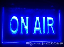 Wholesale Led Air Sign - b-169 On Air Studio beer bar pub club 3d signs LED Neon Light Sign