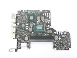 Placa mãe do laptop intel i5 on-line-Motherboard Laptop Original Para A1278 13 '' 2012 ano placa lógica 820-3115-B I5-3210 2.5G