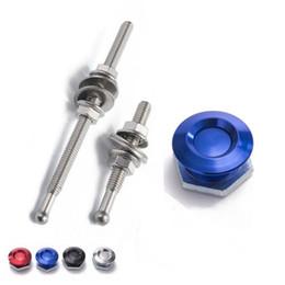 """Wholesale Aluminum Hoods - TANSKY - 1"""" Aluminum Quick Latch Low Profile Lockable Push Button Hood Pins For Honda et TK-DP016M-25 DP017M-25"""