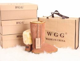 Wholesale Womens Christmas Boots - High Quality WGG Women's Classic tall Boots Womens boots Boot Snow boot Winter boots leather boot US SIZE 5---11