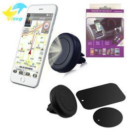 Wholesale Air Vent Phone Holder - Car Mount Air Vent Magnetic Universal Car Mount Phone Holder cell phone holder One Step Mounting ,Reinforced Magnet Easier Safer Driving