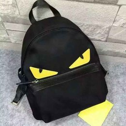 Wholesale Pretty Backpacks - Lovely Unisex Fashion Backpack Multiple Function Cartoon Pattern Pretty Style Medium School Bags with Interior Slot