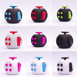 Wholesale Cheap Wholesale Puzzle - Fidget Cube Decompression Dice Anti Stress Hand Itch Irritability Cubes Puzzle Plastic Dices Toy Creative Cheap Free DHL 133