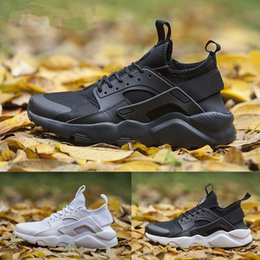 Wholesale Shoes Fitness - 2017 Air Huarache IV Ultra Running shoes Huaraches trainers for men women Multicolor shoes Skate Cycling Fitness Shoes