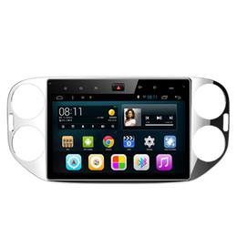 "Wholesale Volkswagen Steering Wheels - 10.2"" Android 6.0.1 System Car DVD For Volkswagen Tiugan 2013-2015 GPS Radio Player WIFI 3G OBD DVR Steering Wheel Control OBD DVR Quad Core"