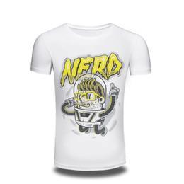 Wholesale Hipster Nerd - Camping T-Shirts 2017 men's Clothing 3D T Shirt Men short sleeve Nerd printed t-shirt funny tee shirts Hipster O-neck cool tops free shippi