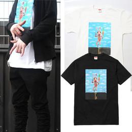 Wholesale Fashions New York - 2017 New York Fashion MIKE HILL RUNNER TEE Collaboration Cartoon 3D I Regret Everything Skateboard T-shirt Men Women Cotton Casual TShirt