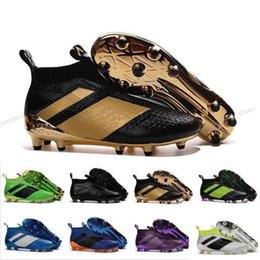Wholesale Cheap Breathable Waterproof Fabric - Newest Ace 16+ Purecontrol Cheap Original Soccer Cleats Men's Soccer Shoes FG AG Waterproof High Quality Football Sneakers Size 39-45