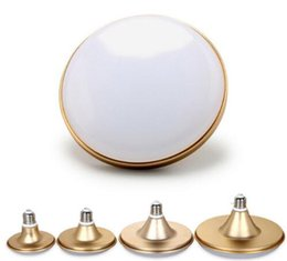 Wholesale 15w Cree Waterproof - E27 LED Bulb Light 5630SMD 220V UFO LED Lamp 15W 20W 25W 30W 40W 60W 80W IP60 Waterproof Dustproof Lampada Bombilla