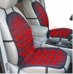 Wholesale Winter Car Seat Covers Cushions - Winter 12V Heated Car Seat Cushion Cover Seat Heater Warmer for SUBARU BRZ Impreza WRX Legacy Forester Opel Corsa astra h G J