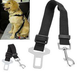 Wholesale Seatbelt Harness - dog leashes leads Adjustable Car Vehicle Safety Seatbelt Seat Belt Harness Lead for Cat Dog Pet wa4245