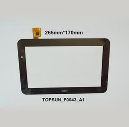 "Wholesale Handwritten Screen - Wholesale- 10.1"" Inch Touch Screen Digitizer OEM Compatible with AIRIS TOPSUN_F0043_A1 Display Handwritten Capacitive Screen"