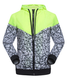 Wholesale Big Collar Coats - 2017 new arrival brand Men's clothes Men's clothing jacket letter big hook hooded Color matching Thin section spring and autumn coat