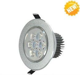 Wholesale Downlight 36w - 9W 15W 21W 27W 36W 45W AC85V-265V 110V 220V LED Recessed Ceiling Downlight LED Spot Light Led Ceiling Down Light Lamp LLFA