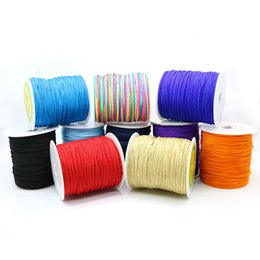 Wholesale Wholesale Chinese Knotting Cord - Size 1.5 mm Mulitycolor Chinese Knotting Cord for Jewelry with Low Price in Stock 100yard ZYL0004-13