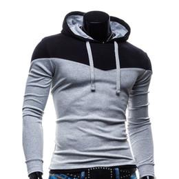 Wholesale Korean Jackets Men Sale - Wholesale-Clearance Sale Discount Men's Fleece Hoodies Men Jacket Tracksuits High-quality Men Korean Slim Fit Men Sweatshirt S M L XL