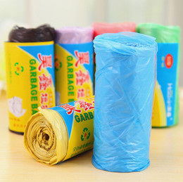 Wholesale Break Free Cleaner - Free Shipping New Convenient Environmental Cleaning Bag Point Break Drawstring Garbage Bag Household Cleaning Tools Random Color