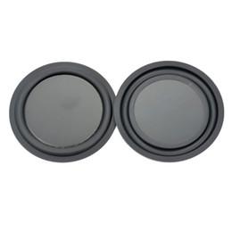 Wholesale Speakers Vibrate - Wholesale- 2Pcs 3.5Inch 85MM Loudspeaker Bass Vibrating Diaphragm Passive Plate Speakers Bass Aids