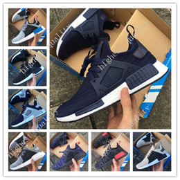 Wholesale 2017 New Originals NMD XR1 Runner Sneakers Boost Men Sports Breathable Mesh Running Shoes Women Outdoor Sportd Shoes Size with box