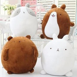 Wholesale Cute Teddy Bears Gifts - 1pcs 25cm super cute rabbit molang potatoes bear plush toy doll, female valentines day gifts molang rabbit plush toy teddy bear