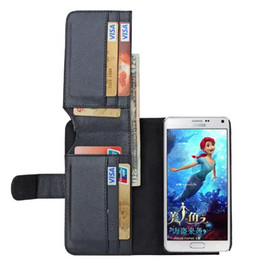 Wholesale Shock Resistant Mobile Phone - Anti-shock Wallet PU Leather Cell Phone Protective Cases for Samsung Note5 High Quality FliP Mobile Phone Cover Clamshell Design 21