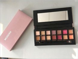 Wholesale Modern Shadow - Ship in 2days! Modern eye shadow Palette 14colors limited eye shadow palette with brush pink eyeshadow palette of Mario