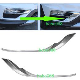 2019 honda crv abs 2 ШТ. Для Honda CRV 2015-16 ABS Авто Передние Противотуманные Фары Декоративные Литья Рамка L дешево honda crv abs