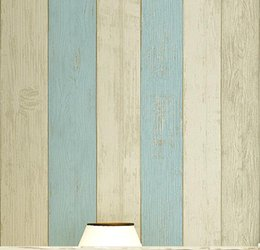 Wholesale wood contact paper - Wholesale-Stripes Wood Self adhesive Wallpaper Roll 53cm X 5m Mural Backgroud Decor Contact Paper for living room