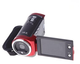"Wholesale hdd cameras - Free shipping 16MP Digital Camera 16X Digital Zoom Shockproof 2.7"" SD Camera Red Black C6"
