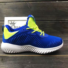 Wholesale Ventilated Running Shoes - Kids Running shoes Mesh top ventilate wearable antishock arch sole Kids outdoor light sneakers best prices free shipping