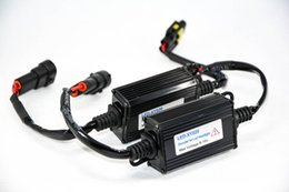 Wholesale Dome Light Kit - 1 Pair H8 H9 H11 H16(JP) Auto LED Headlight Conversion Kit Canbus Decoder Load No Error Free Warning Canceler Anti-Hyper Flashing Blinking